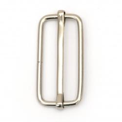 Регулатор метален вътрешен диаметър 38x16x2.8 мм цвят сребро -10 броя
