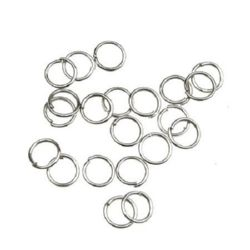 Jewellery making ring 6х0.7 mm
