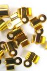 Tip metal 4/8 mm color gold -50 pieces