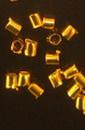 Стопер метал 1 5x1 5 мм цвят злато -100 броя