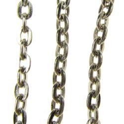 Lanț 3x2x0,5 mm argint -1 metru