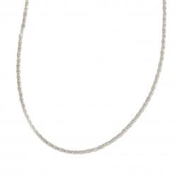 Lant 6,5x2,5x1 mm culoare argintiu -1 metru