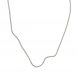 Lanț  bila 1,5 mm culoare negru -1 metru