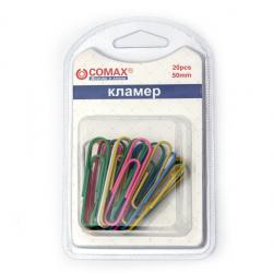 Συνδετήρες 50 mm χρωματιστοί- 20 τεμάχια