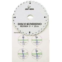 DIY Kumihimo Disc for knitting, kumihimo circle-15 cm