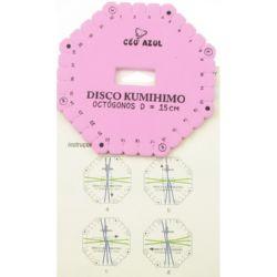 Disc Kumihimo pentru tricotat, kumihimo octagon -15 cm