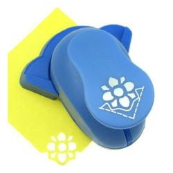 Corner punch Kamei  25 mm for cardboard from 160 g/m2 to 240 g/m2 and EVA foam, for making flower shaped hole