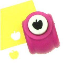 Scrapbook Punch for Cardboard & EVA, Apple, 160 grams/m2, 10mm