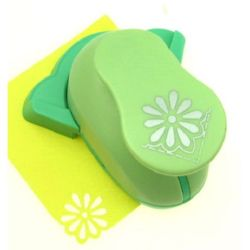 Corner punch Kamei 25 mm for cardboard from 160 g/m2 to 240 g/m2 and EVA foam, for making daisy flower shaped hole