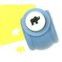 Scrapbook Punch, for cardboard, Elephant, 160 grams/m2, 10mm