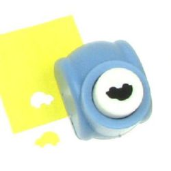 Scrapbook Punch, for cardboard, Car, 160 grams/m2, 10mm