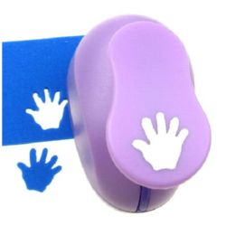 Scrapbook Punch, for cardboard and EVA, Hand, 16mm