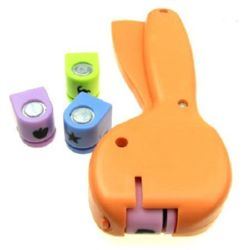 Set punch / punch /  10 mm pentru carton până la 160 g / m2 cu 4 forme k2