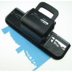 Perforator / punch profesional / bordură 100mm cu 2 pini