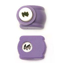 Punch / punch / 10 mm pentru carton până la 160 g / m2 iepure