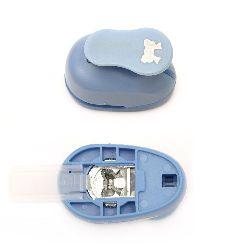 Perforator / punch / 16 mm pentru carton și panglică EVA 1