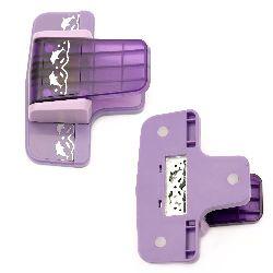 Ciocan / pumn / bordură 45x14 mm pentru carton până la 160 g / m2 delfini