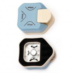Перфоратор /пънч/ декоративен за заобляне на ъгли за картон до 160 гр/м2 в 3 размера