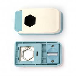 Перфоратор /пънч/ 25 мм за различни материали шестоъгълник
