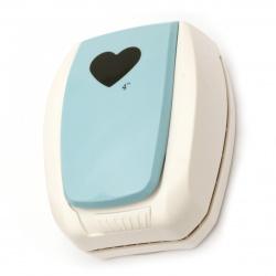 Перфоратор /пънч/ Kamei 101 мм за картон от 180 гр/м2 до 250 гр/м2 сърце