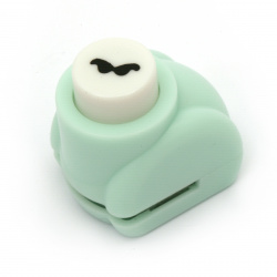 Ciocan / pumn / Kamei 10 mm pentru carton până la 160 g / m2 mustață