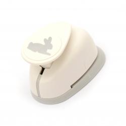 Перфоратор /пънч/ 25.4 мм за картон и EVA заек