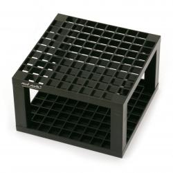 Органайзер пластмасов сглобяем 14.6x8.7 см Studio Tidy Mont Marte с 96 отделения черен -1 брой