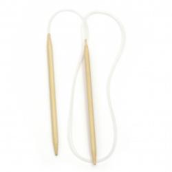 Обръч за плетене бамбук 5.5 мм 78 см