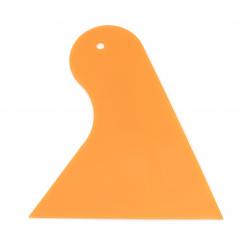 Пластмасова шпатула 102x93x25 мм оранжева