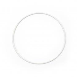 Ринг метал 20x3 мм бял -1 брой