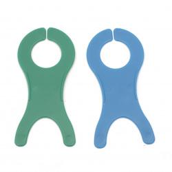 Instrument de tricotat din plastic 10,5x3x5 cm
