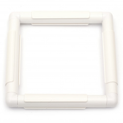 Embroidery frame plastic 15.2x15.2 cm