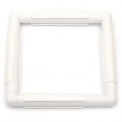 Рамка за бродиране пластмасова 27.9x27.9 см