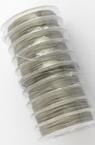 Корда стоманена 0.38 мм цвят сребро -10 метра