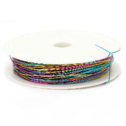 Iron wire 0.5 mm arc color ~ 7 meters