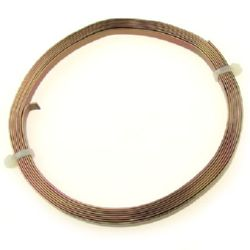 Craft Aluminium Wire 5x1 mm color brown -2 meters