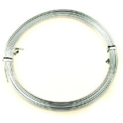 Craft Aluminium Wire 5x1 mm color silver -2 meters