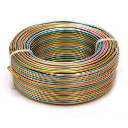 Тел алуминиева 2 мм цветна ~58 метра