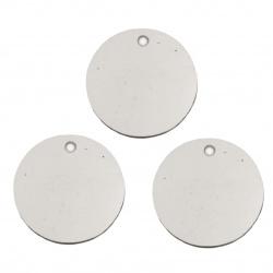 Paiete rotunde plate de 16 mm argint - 20 grame