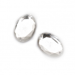 Metal Coin Pendant, DIY Clothes, Decorations, Jewelry 15 mm silver with a ring - 50 pieces