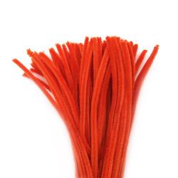 Tija de sârmă portocaliu -30 cm -10 bucăți