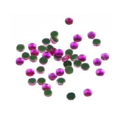 DIY Self Adhesive Glass Rhinestone, Crystals, Decorations, Clothes, Craft 2.2 mm cyclamen 2 grams ~ 210 pieces