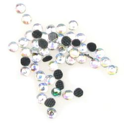 DIY Self-Adhesive Glass Rhinestone, Crystals, Decorations, Clothes, Craft 2.2 mm arc 2 grams ~ 210 pieces