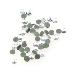 DIY Self-Adhesive Glass Rhinestone, Crystals, Decorations, Clothes, Craft 1.6 mm transparent 2 grams ~ 500 pieces