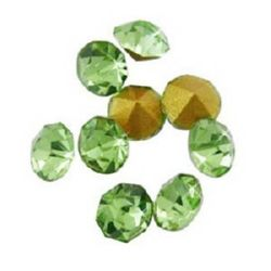 Green Crystals for gluing 2 mm