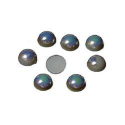 Perla emisferă 8 mm arc -100 bucăți