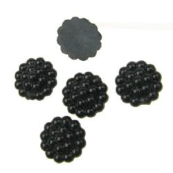 Black Pearls for gluing 13 mm