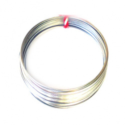 Memory Aluminium wire for bracelets 50 mm 50 rings