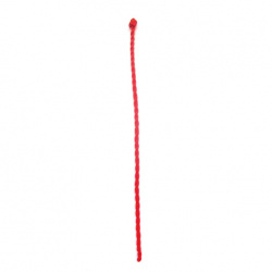 Βραχιόλι, στρογγυλό κόκκινο κορδόνι- 3 mm