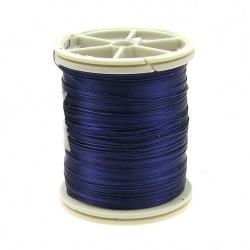 Sârmă de cupru 0,3 mm violet închis ~ 50 metri
